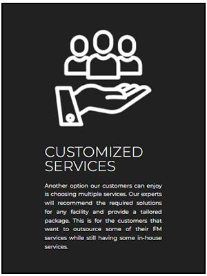 Customized Service astrum 14-01-2021