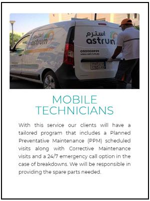 Mobile Technician astrum service 16-01-2021