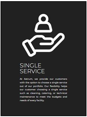 Single Service astrum 14-01-2021